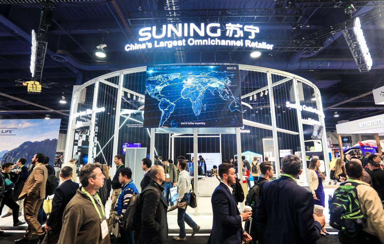 CES2018:苏宁无人店惊艳世界  评价亮了