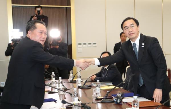 朝韩会谈朝方团长发声明:朝鲜的所有武器只针对美国
