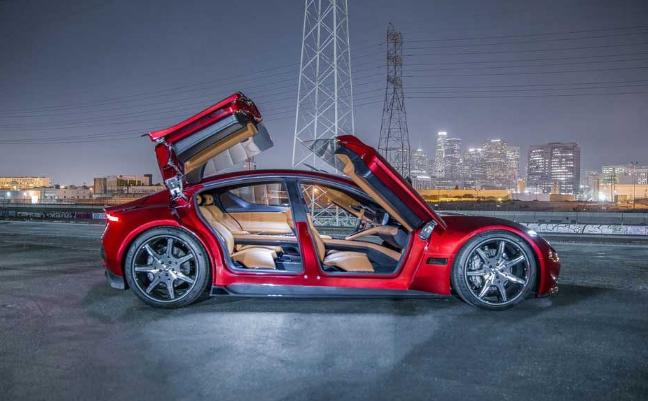 未来汽车Fisker EMotion EV首次亮相CES2018
