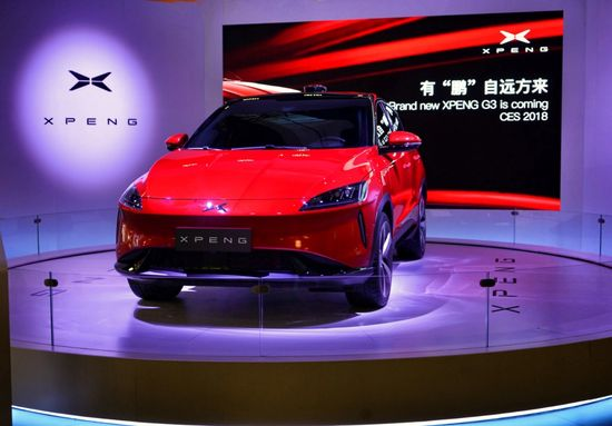 CES2018:小鹏汽车量产版电动紧凑型SUV G3首秀