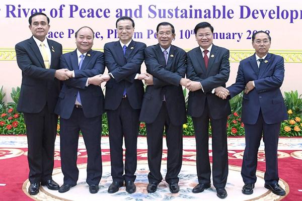 李克强总理出席澜湄合作第二次领导人会议图集