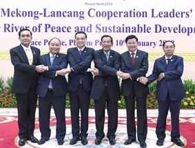 李克强总理出席澜湄合作第二次领导人会议
