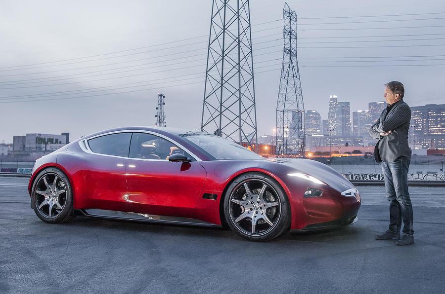菲斯科Emotion电动轿车亮相CES展 实现四级自动驾驶