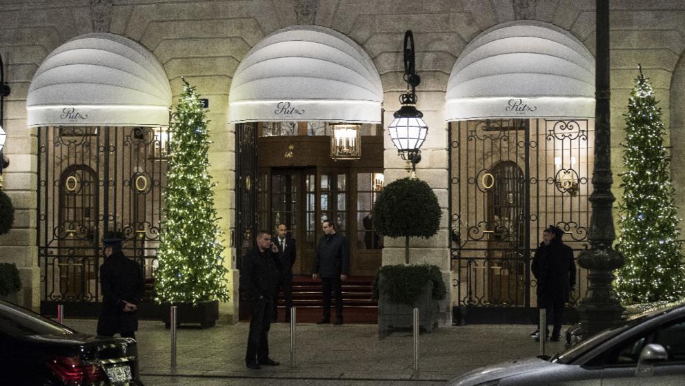 悍匪鸣枪劫巴黎豪华酒店 价值400万欧元珠宝被抢