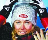 希弗林延续高山滑雪世界杯2018年个人全胜记录