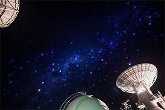 太科幻了!星河下的远望三号