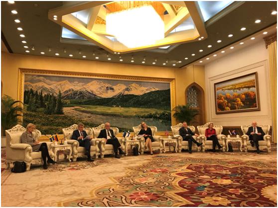 芬兰冰岛挪威三国议长:期待与中国在北极合作