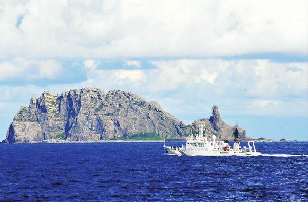 日两艘舰艇现身钓鱼岛海域 中国海军全程监控
