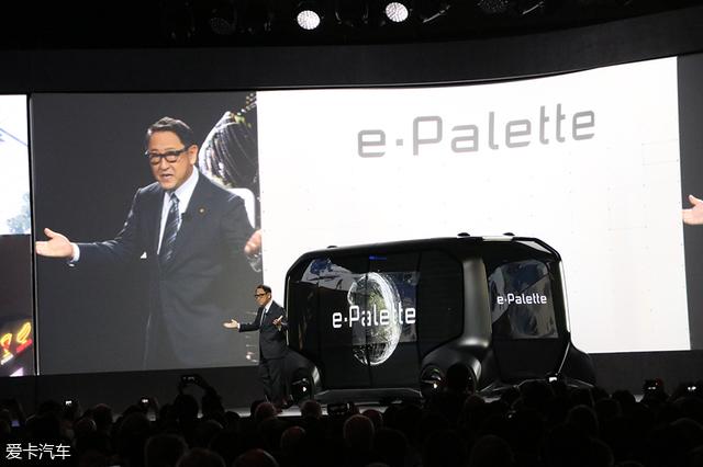 从e-Palette概念车 解读丰田未来布局