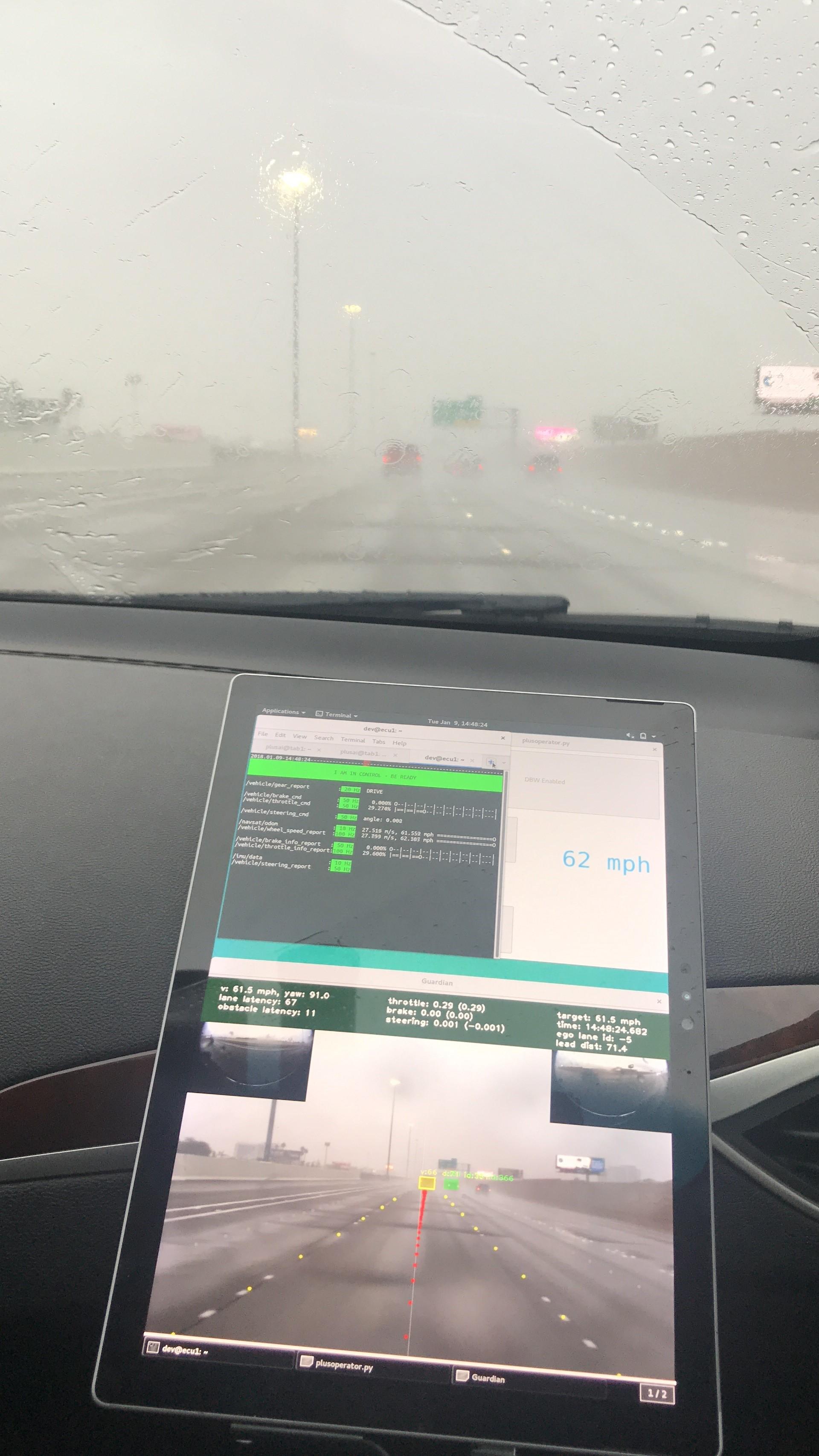 CES2018:智加科技无人驾驶经受住CES暴雨考验