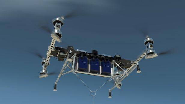 波音无人电动货运飞机可承载227千克的有效载荷