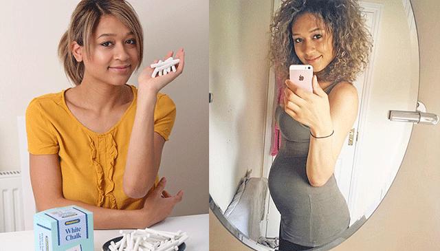 怪癖!英女子怀孕期间每天吃十根粉笔