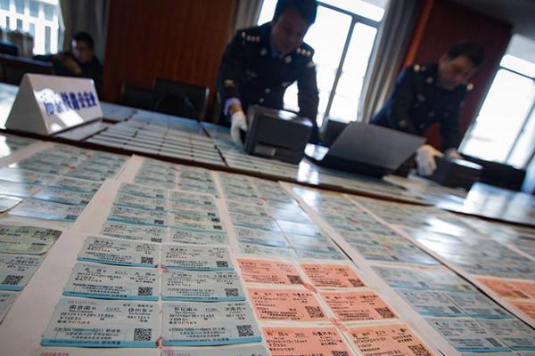 南京铁路公安破获制售春运假票案