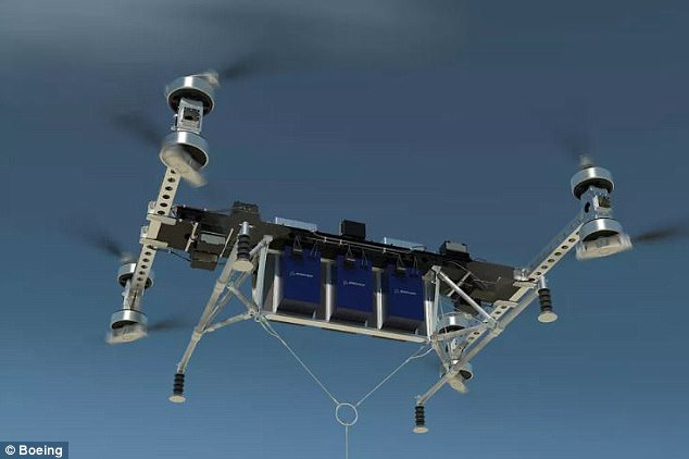 波音推出自动驾驶巨型无人机 可载重两头小象