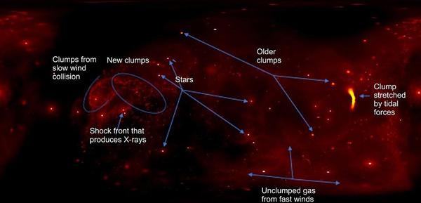 NASA360度可视化视频展现银河系中心运动