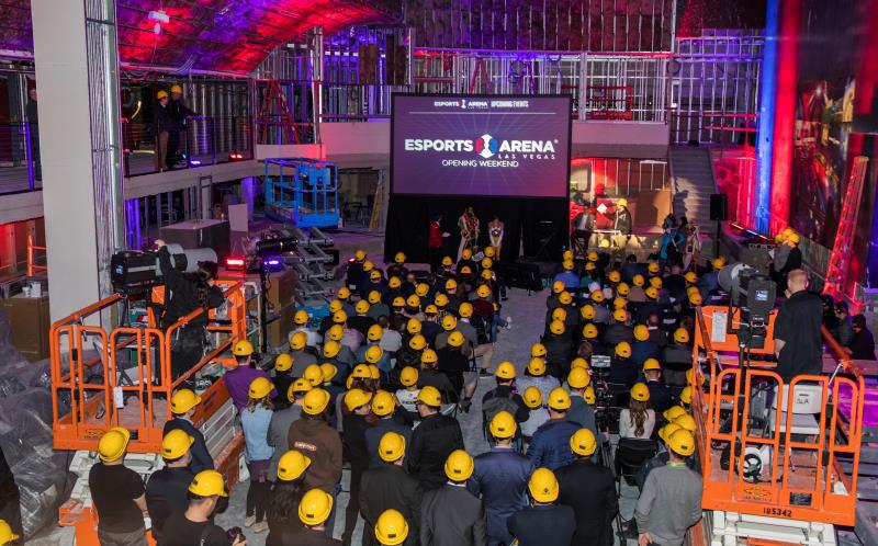 联盟电竞Esports Arena拉斯维加斯馆 3月22日盛大开业