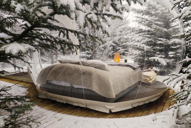 围观全球特色冰雪酒店 冰屋看雪显浪漫