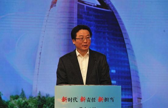 人民日报社副总编辑、人民网董事长王一彪