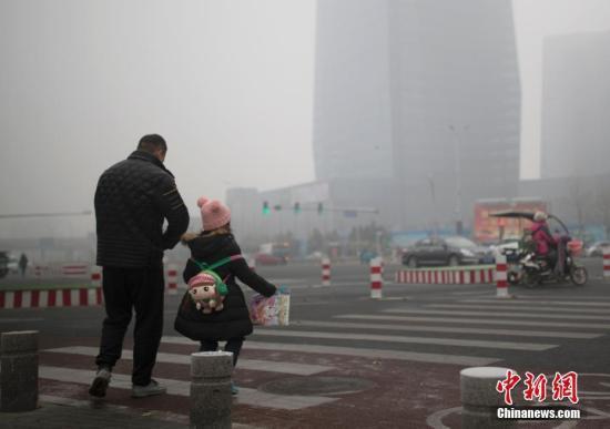 环保部:12日起京津冀及周边将出现重污染天气过程