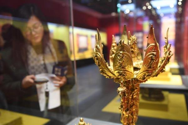 西子湖邂逅雪域文明 117件藏族艺术瑰宝于浙江展出
