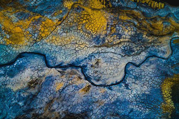 摄影师航拍地球风光美景 惊艳若一幅幅抽象画
