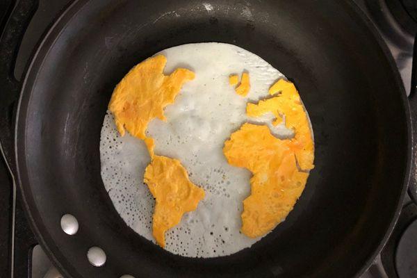 鸡蛋也能如此艺术?墨西哥大学生神级煎蛋惊艳绝伦