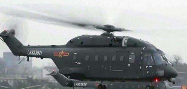 美媒称解放军装备新型直升机 将用于空中突击作战