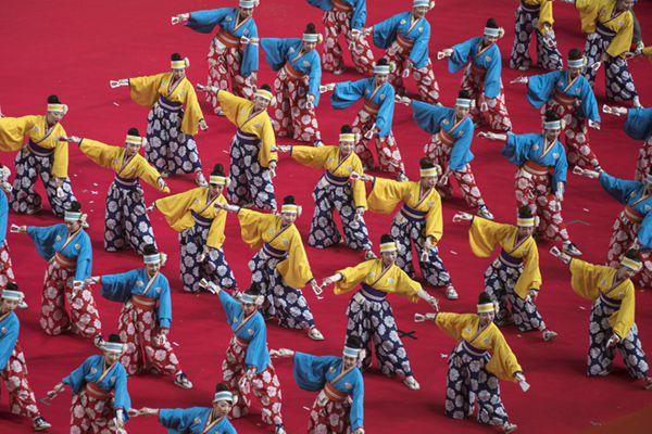 东京第10届东京故乡祭举行 超40万民众到场参观
