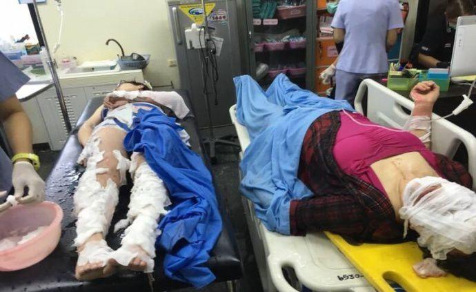 泰国皮皮岛附近快艇突发爆炸,多名中国人受伤