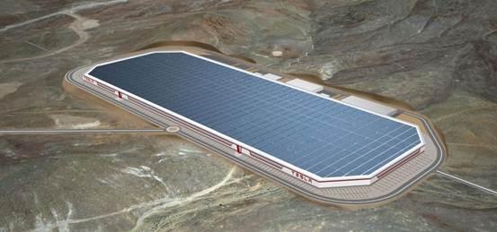 松下或与特斯拉合作在中国建超级电池工厂
