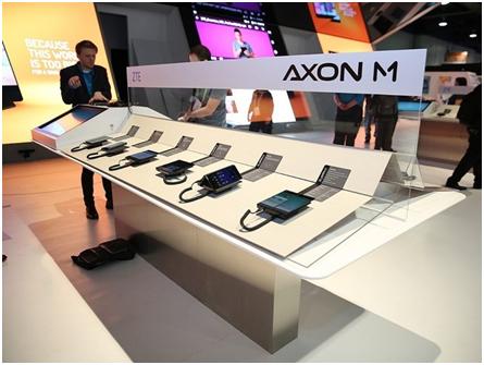 手机大佬盛赞中兴天机Axon M 国内即将发布