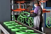 浙江武义:共享单车生产忙
