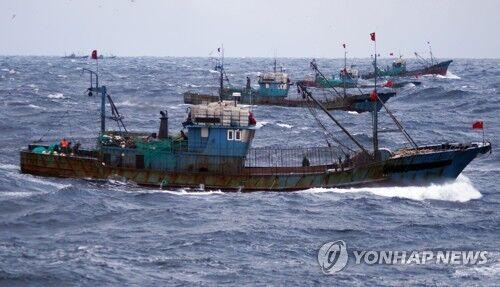 一日两起!韩方昨日再扣押5艘中国渔船 事发不同海域