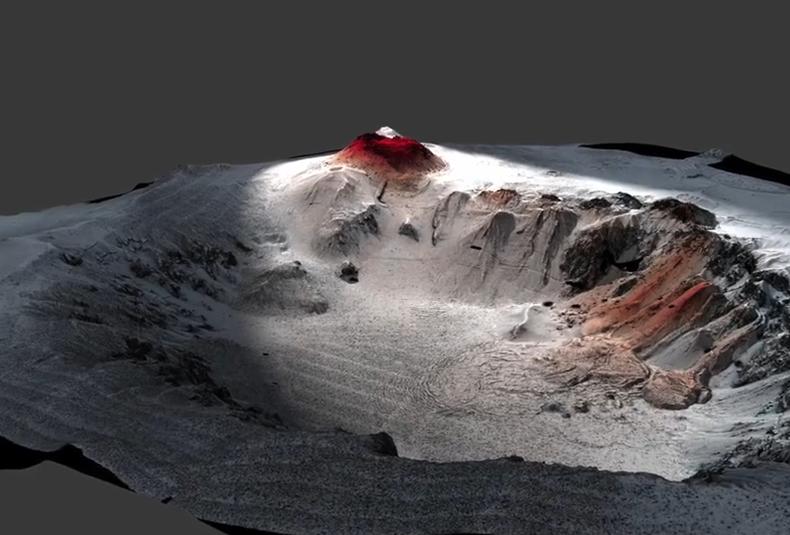 科学家竟拍到新西兰海底火山喷发