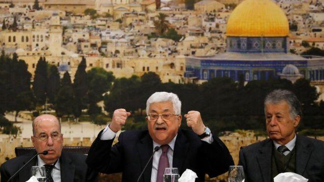 """巴勒斯坦总统抨击特朗普:耶路撒冷决定""""扇了本世纪一耳光"""""""