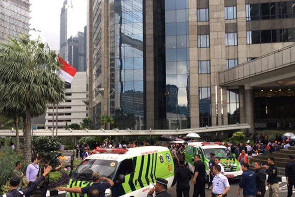 印尼证交所大楼发生垮塌事故