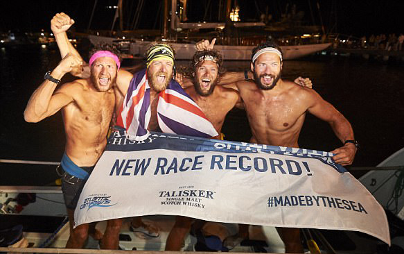 破纪录!英业余划浆者为筹善款29天横渡大西洋