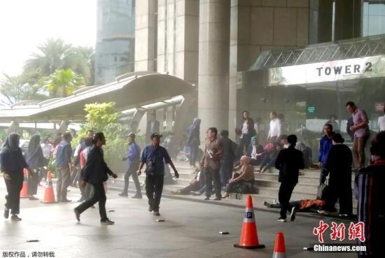 印尼证交所大楼夹层垮塌致72人伤 多数系参观学生