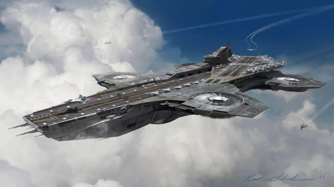 """空中发射回收无人机 科幻电影中的""""飞行航母""""或将成真"""