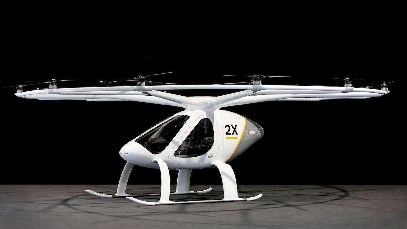 无人直升机可能比无人亿万先生更早进入我们的家庭