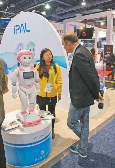"""媒体:""""中国创造""""在国际消费电子展上绽放异彩"""