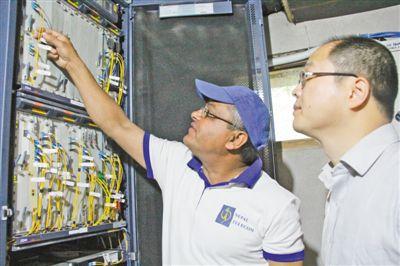 媒体:中尼跨境互联网光缆正式开通