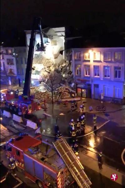 比利时爆炸导致建筑物坍塌5人受伤 非恐袭
