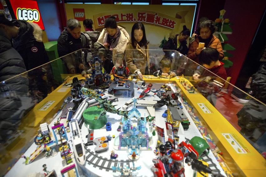 乐高与腾讯达成合作 共同开发智能玩具和游戏