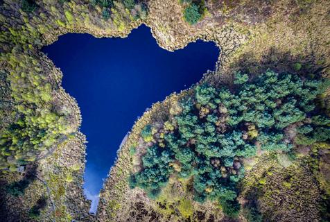 """""""上帝视角""""看地球:美景如画多彩壮观"""