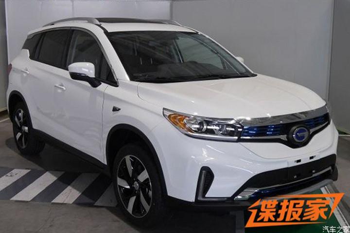 破冰之作 广汽丰田首款电动车ix4 EV申报图曝光