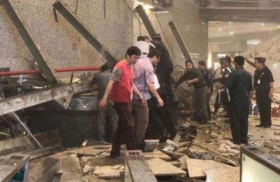 73人伤印尼证交所坍塌致