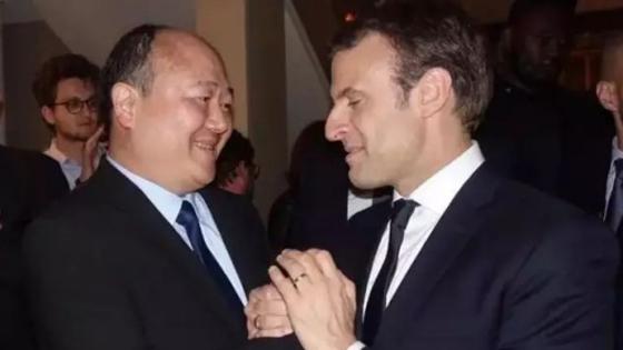 外媒:有位华人随马克龙访华他是什么来头