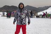 庾澄庆晒滑雪照:休息一天也要滑雪!