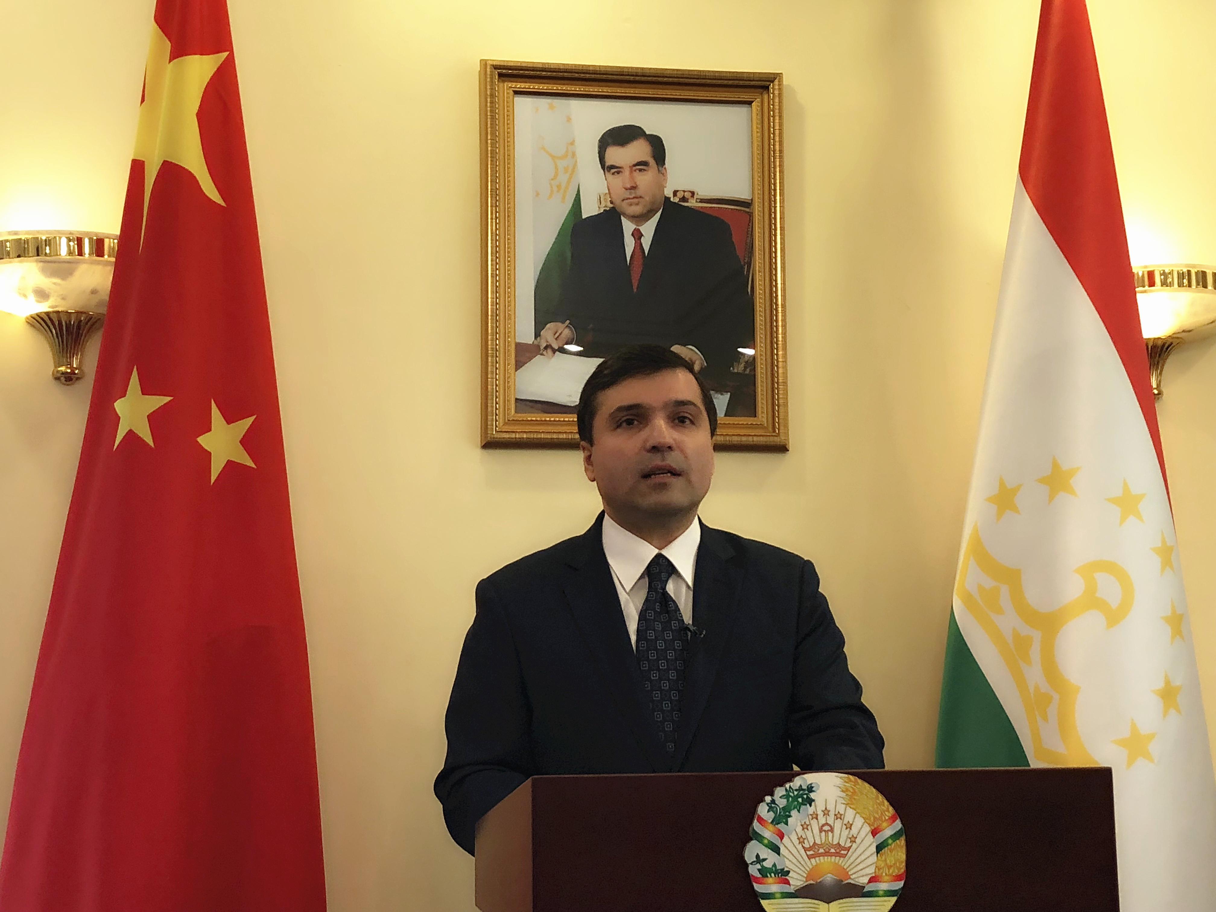 塔吉克斯坦驻华大使:塔吉克斯坦总统今年6月计划访问中国